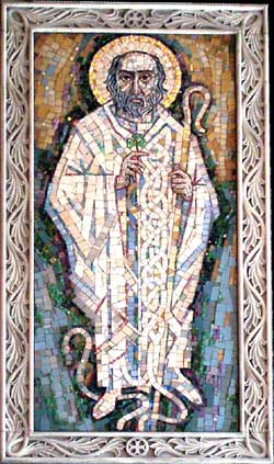 Saint Patrick by Trevor Caley